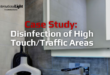 Disinfection of high touch/traffic areas