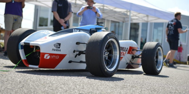 Formula Student launches autonomous racing car competition
