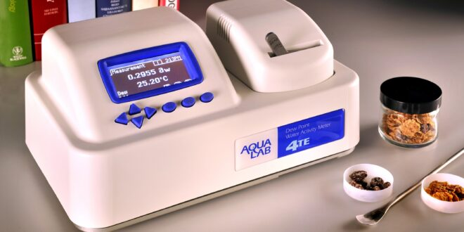 Water activity analyser for food and pharmaceutical applications – with live demonstration service!