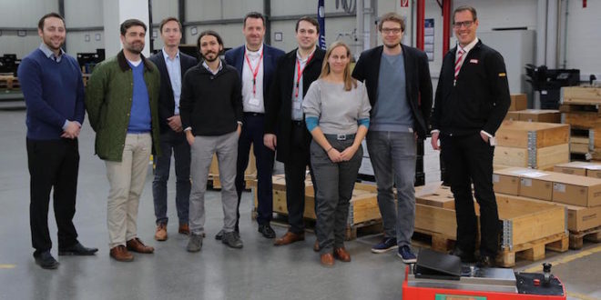 Navigation by light: research project demonstrates the possibilities for light-based positioning in industrial applications