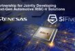Renesas and SiFive to develop next-generation high-end RISC-V solutions for automotive applications