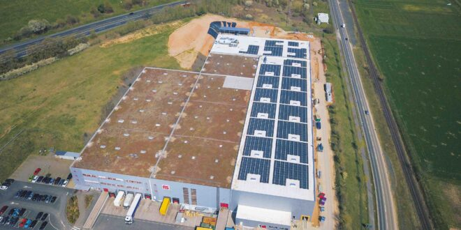 RS Components harvests solar energy in major expansion of European distribution centre