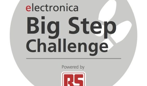 RS Components announces details of the 'Big Step Challenge' at electronica 2018
