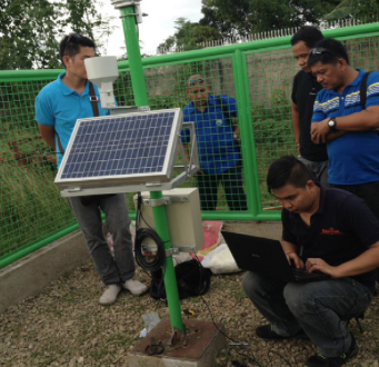 HWM supports measurement of unique weather conditions in Philippines