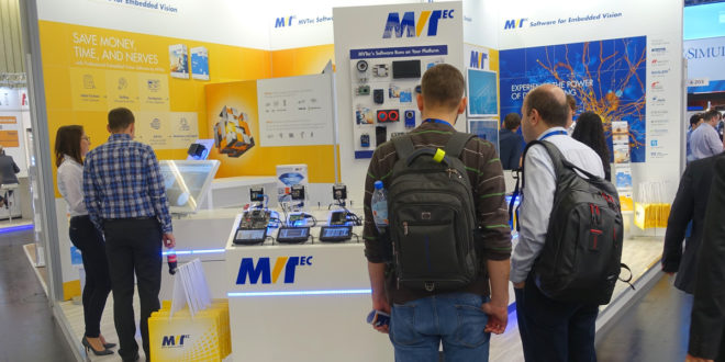 Embedded vision: MVTec exhibits solutions at embedded world