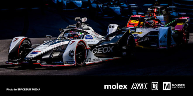 Mouser-sponsored Formula E team drives into Berlin