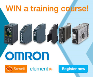 WIN an automation training course for 2 from Omron